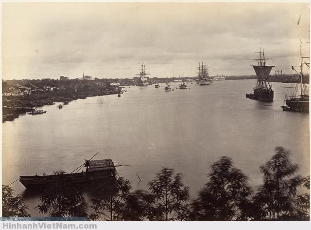 Cảng Sài Gòn xưa