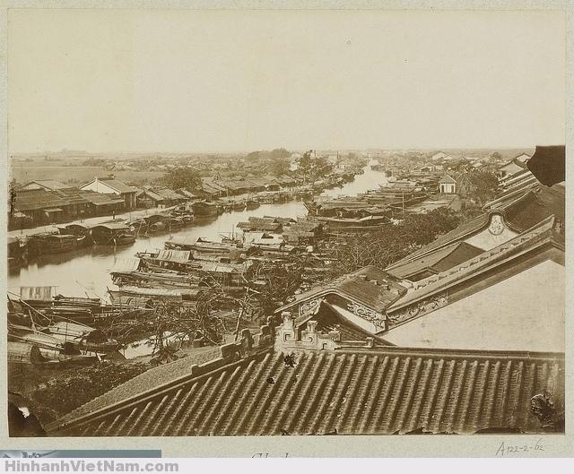 CHOLON 1888 - The Chinese district of Saigon  Chợ Lớn - rạch Bến Nghé