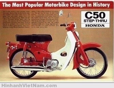 Honda Dame C50