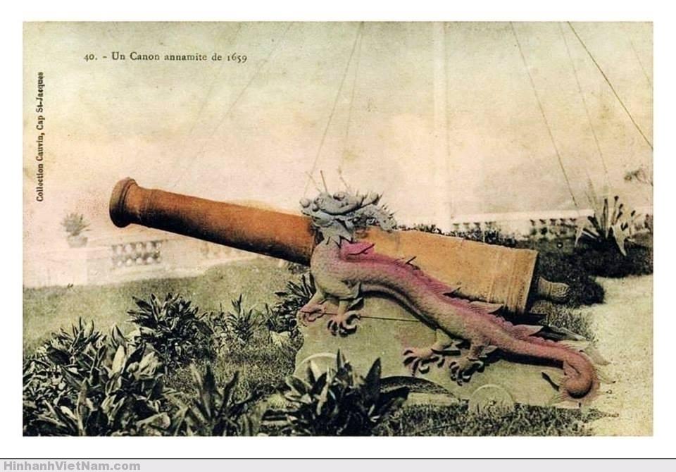 Khẩu súng thần công của Việt Nam đúc năm 1659