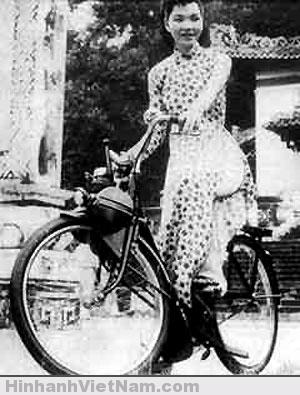 Ngay từ năm 1956, VeloSoleX đã được phụ nữ sử dụng.