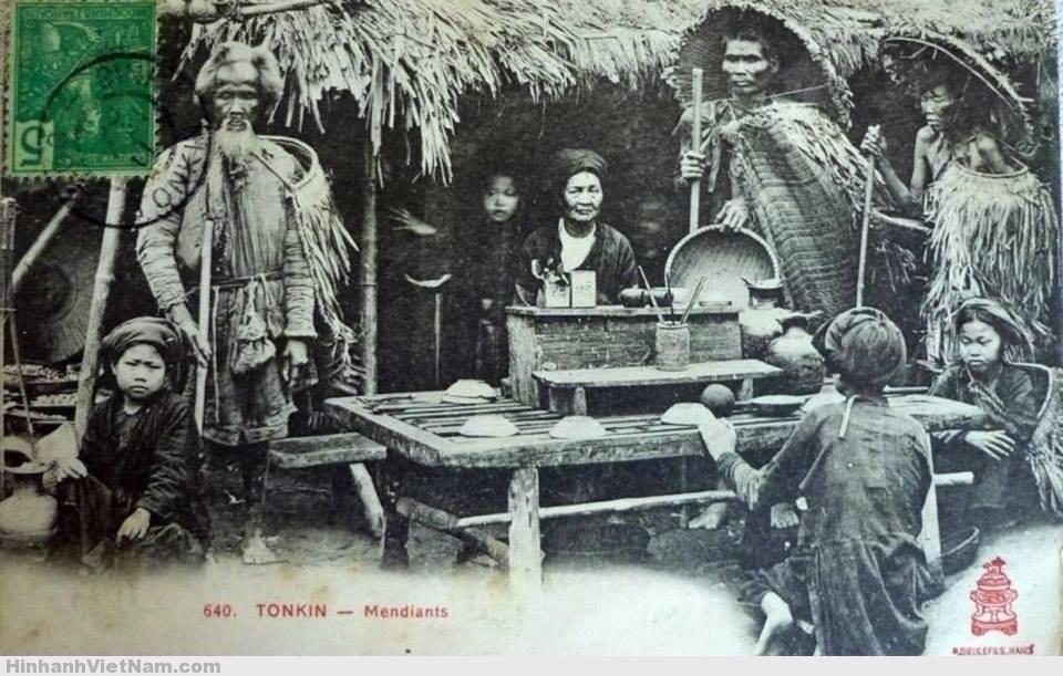 Những người ăn mày ở đất Bắc (thời Pháp thuộc)