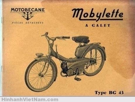 Quảng cáo xe Mobilette