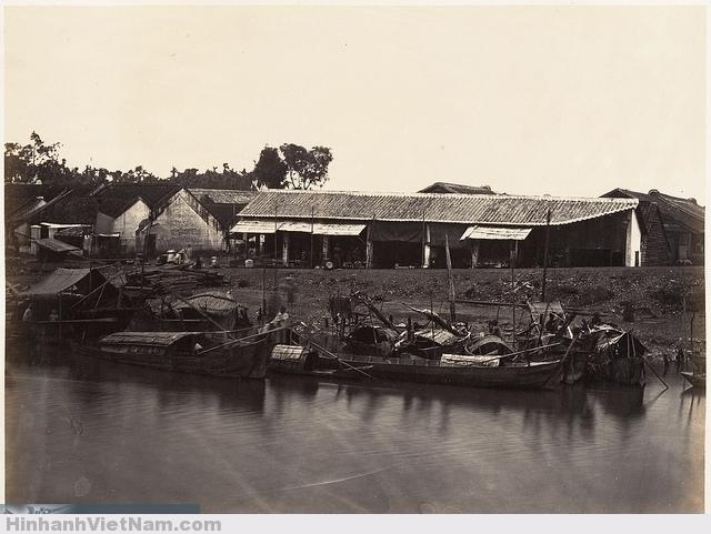 Saigon, Cochinchine 1866 Chợ lớn xưa