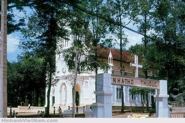 SAIGON 1965 - Nhà thờ Thủ Đức