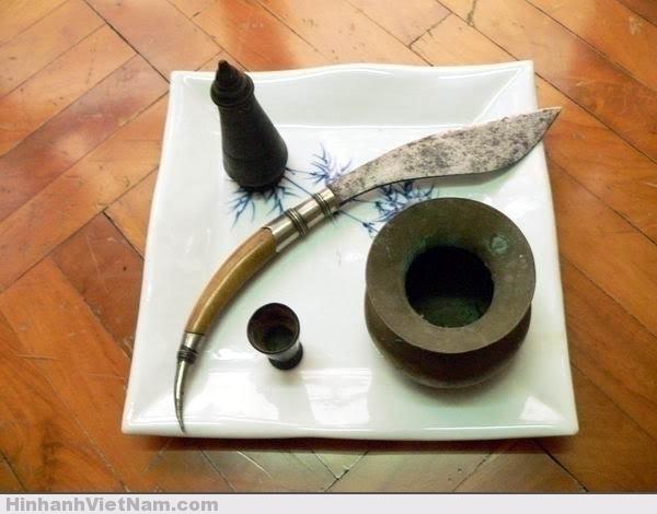 Vũ khí người Việt cổ