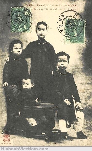 Duy Tân và các anh chị em