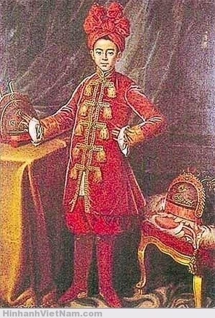 Hoàng tử Cảnh (hình vẽ bên Pháp bởi họa sĩ Maupérin vào năm 1787)