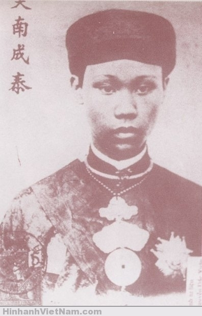 Vua Thành Thái trong lúc còn tại vị