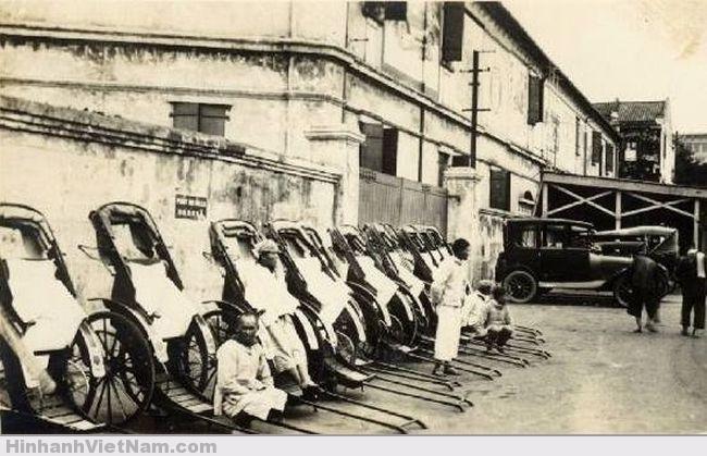 Xe kéo Sài Gòn xưa