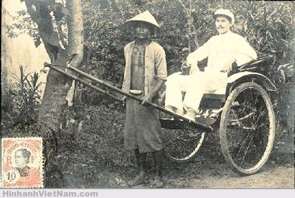 Xe kéo ngày xưa