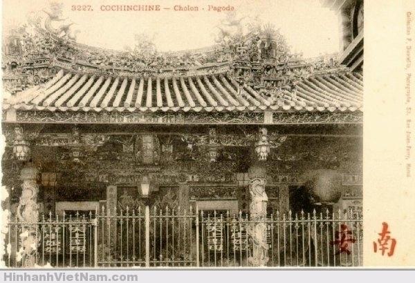 Một ngôi chùa ở Chợ Lớn