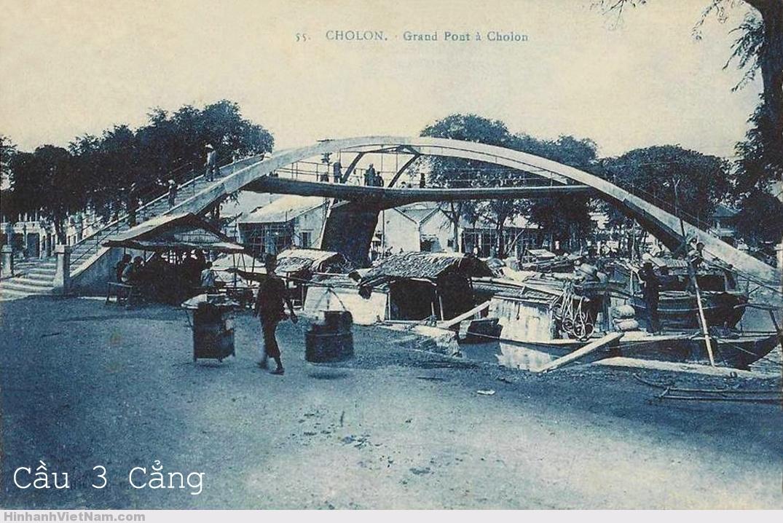 Cầu Ba Cẳng ở Chợ Lớn