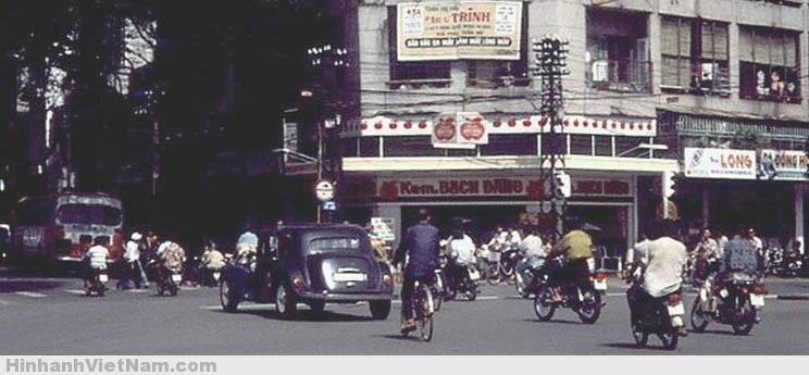 Kem Bạch Đằng ở ngã tư Lê Lợi - Pasteur những năm 60