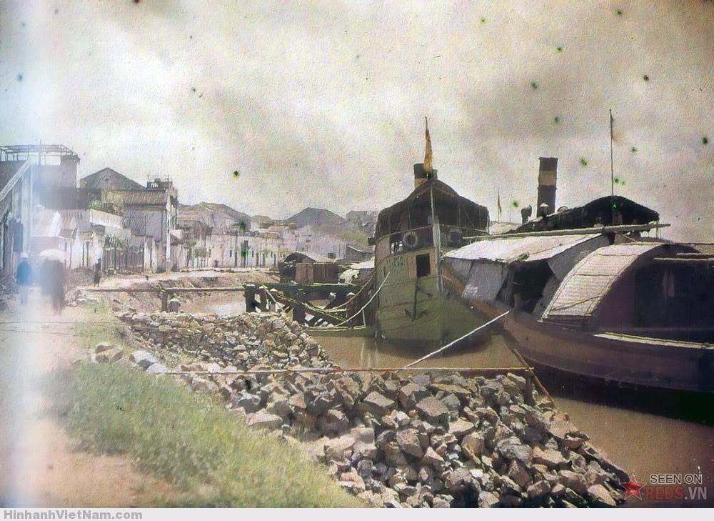 Sông Tam Bạc, Hải Phòng, 1915