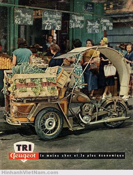 Triporteur Peugeot 55TN