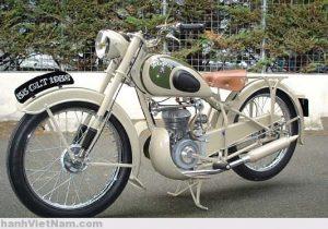 Xe mô-tô Peugeot 125cc kiểu 55 GLT 1932