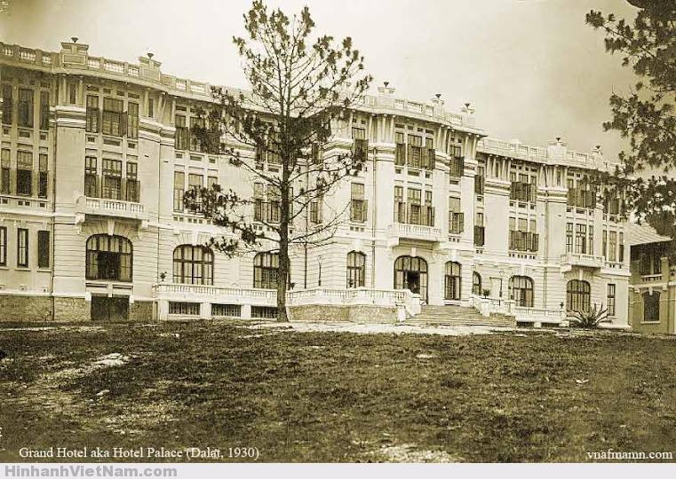 Hotel Palace ngày xưa đã lộng lẫy nguy nga mang dáng dấp cung điện Pháp