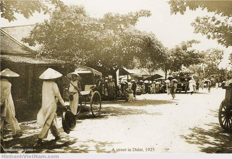 Đường phố Đà Lạt 1925