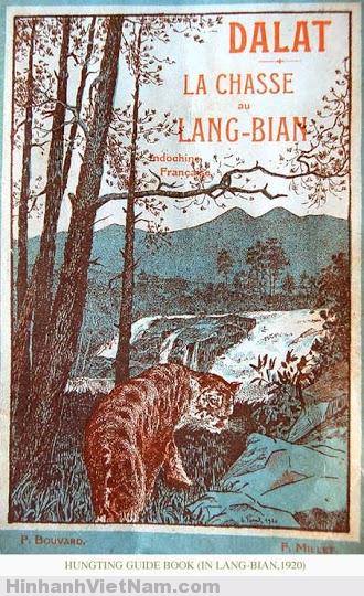 Một bảng cảnh báo thú dữ ở LangBian Đà Lạt