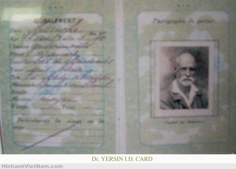 Thẻ ID của bác sĩ YERSIN