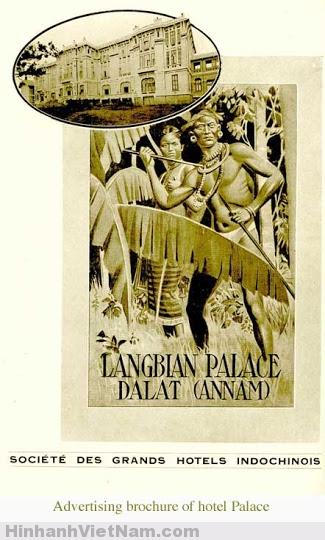 Một tờ quảng cáo của khách sạn Palace