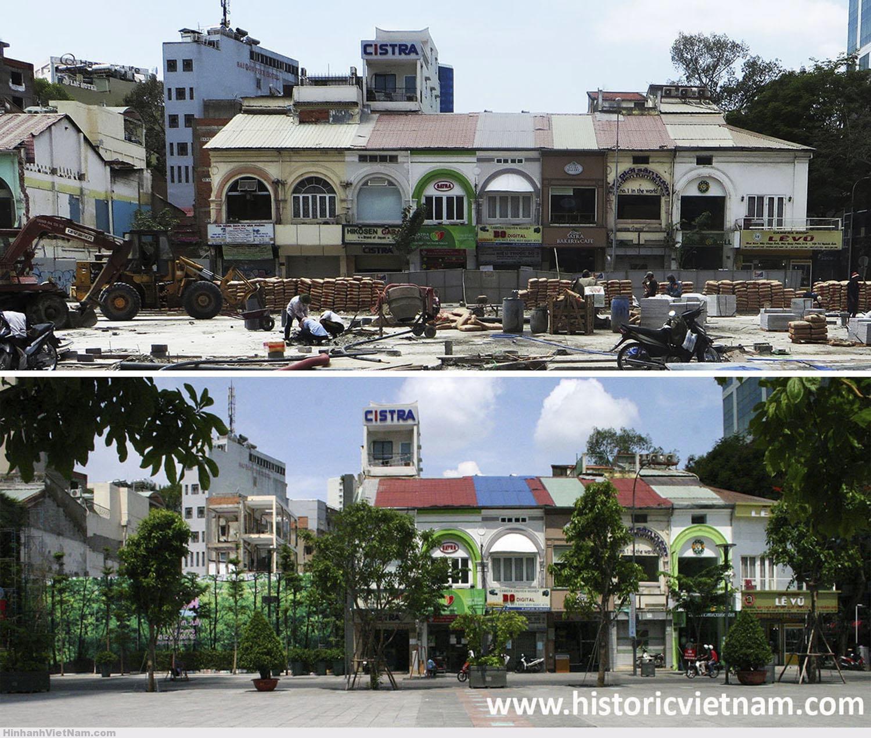 Các shop trên đường Nguyễn Huệ