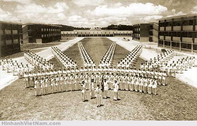Một buổi diễn binh tại Học viện Quân sự Quốc gia