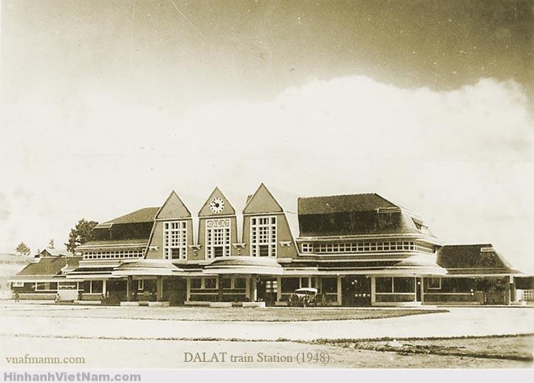 Nhà Ga Đà Lạt 1948