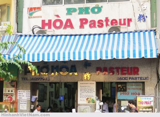 Phở Hòa đường Pasteur