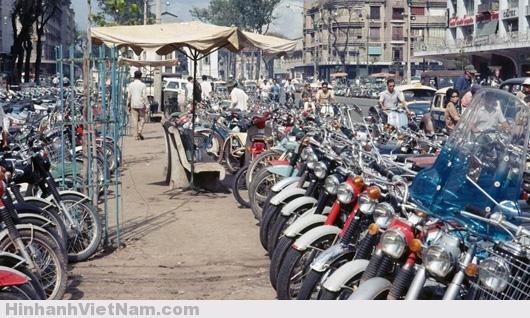 xe máy sài gòn xưa