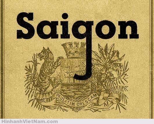 Logo Sài Gòn năm 1870
