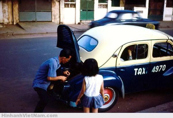 xe taxi sai gon xua - xe con bo - xe coc (10)