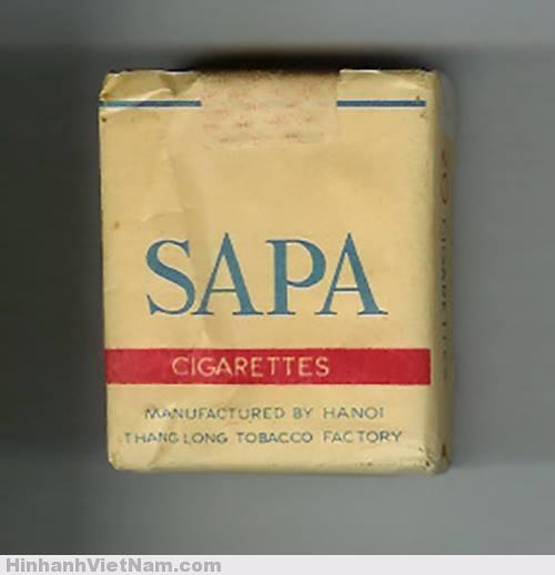 Sản phẩm của nhà máy thuốc lá Thăng Long