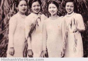 Người mẫu thời trang Hà Nội xưa