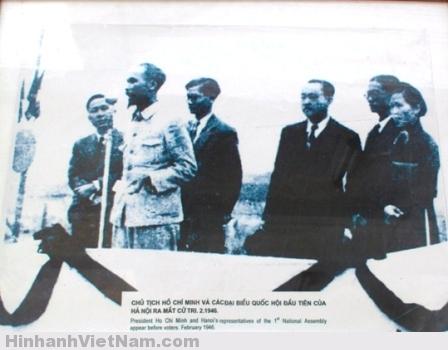 Những hình ảnh lịch sử từ kỳ bầu cử Quốc hội đầu tiên