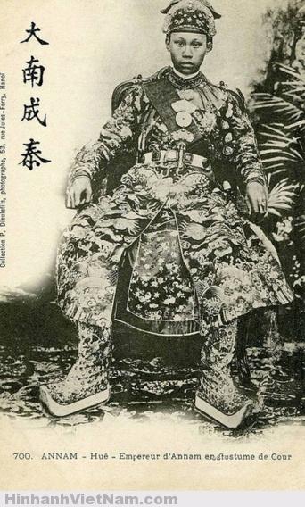 17 bức hình cực hiếm về các vua chúa triều Nguyễn