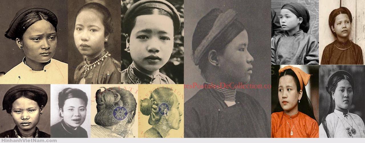 Khăn vấn của người Việt