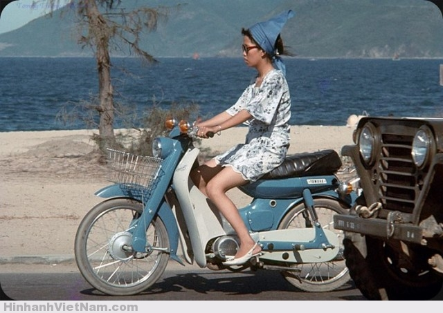 Vài ảnh đời thường về xe máy ở Nha Trang