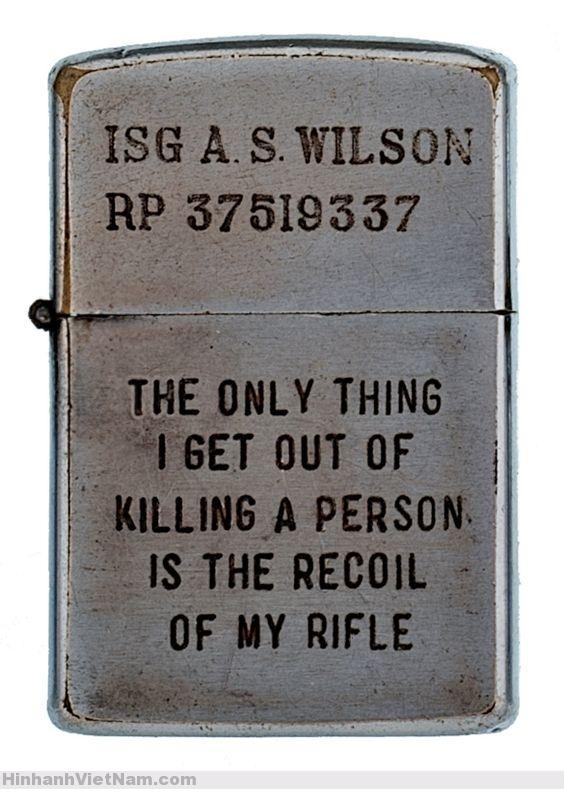 Bật lửa Zippo của lính Mỹ