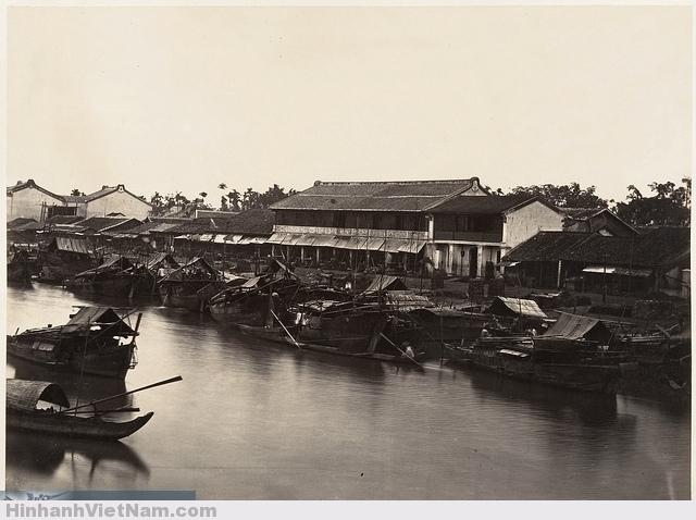 Saïgon, Cochinchine 1866 Chợ lớn xưa