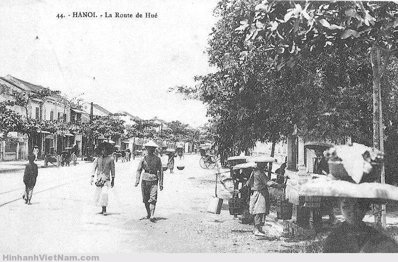 Phố Huế ở Hà Nội thời xưa