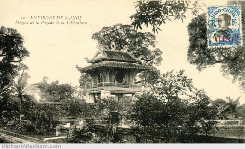 Văn miếu Quốc Tử Giám ở Hà Nội thời xưa