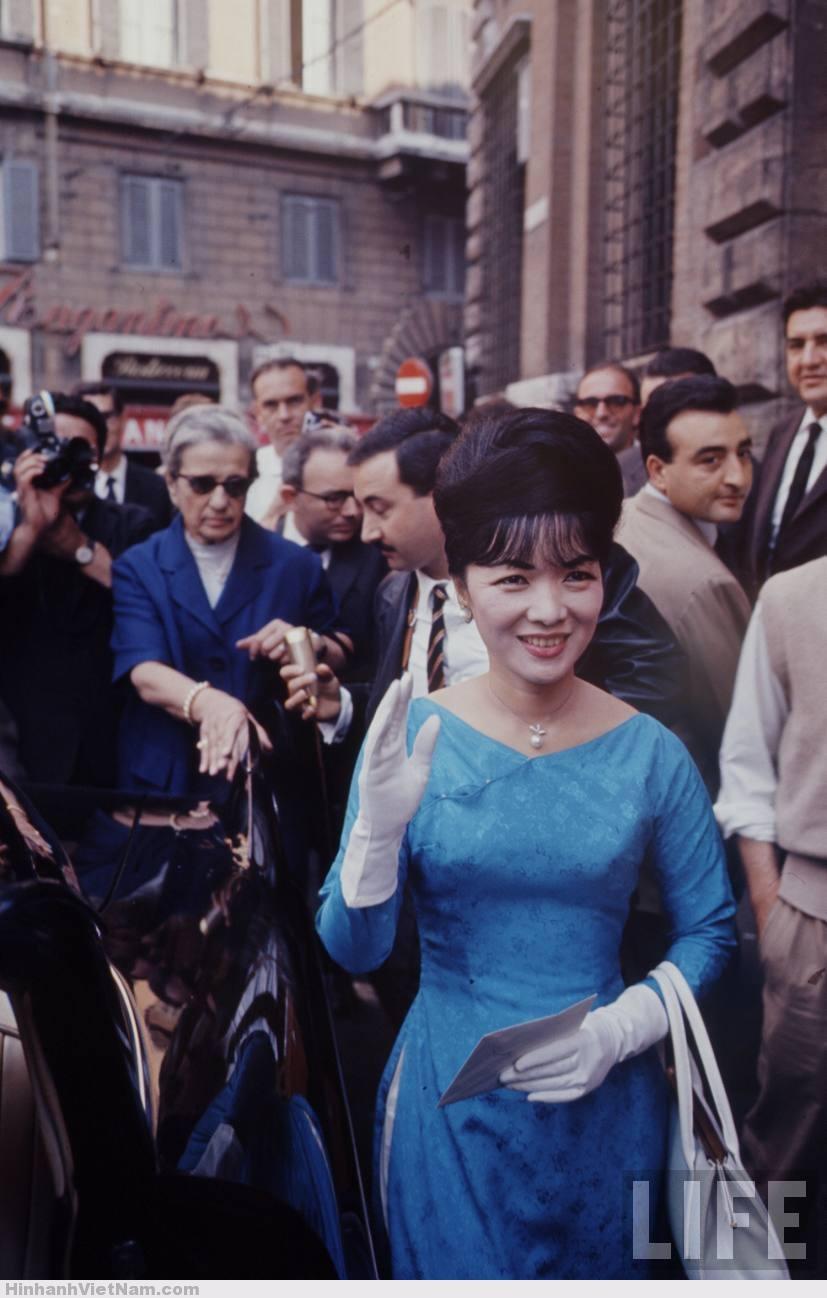 """Madame-Nhu-in-Paris-1963 """"Bà Cố vấn"""", vợ của Ngô Đình Nhu tại Paris 1963"""
