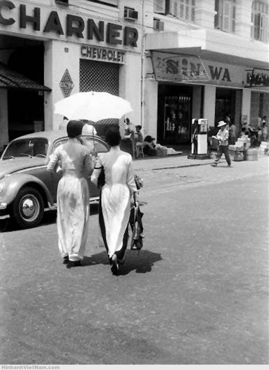 Sài Gòn áo dài 1964