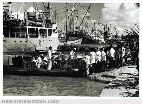 Bến đò ở Sài Gòn những năm 1960