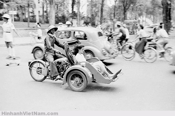 Một thiếu nữ Pháp kiều tại Sài Gòn