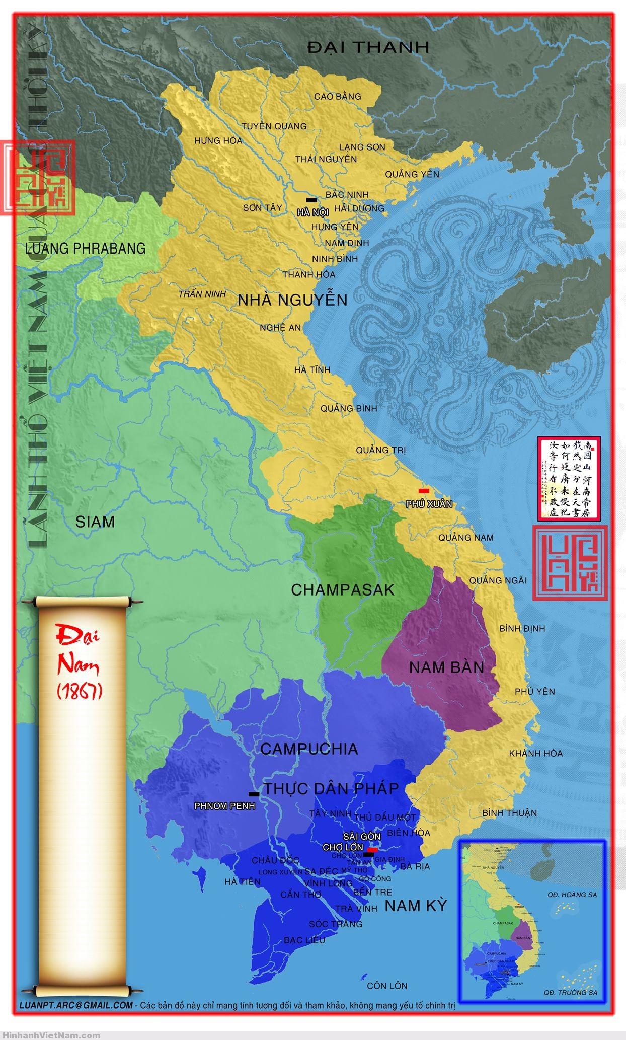 ... Ban Do Lich Su Viet Nam Xua - Phong Kien (59) ...