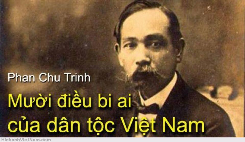 10 điều bi ai của dân tộc – Phan Chu Trinh